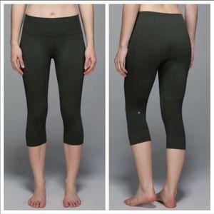 Lululemon Athletica Seamlessly Street Crop Pants